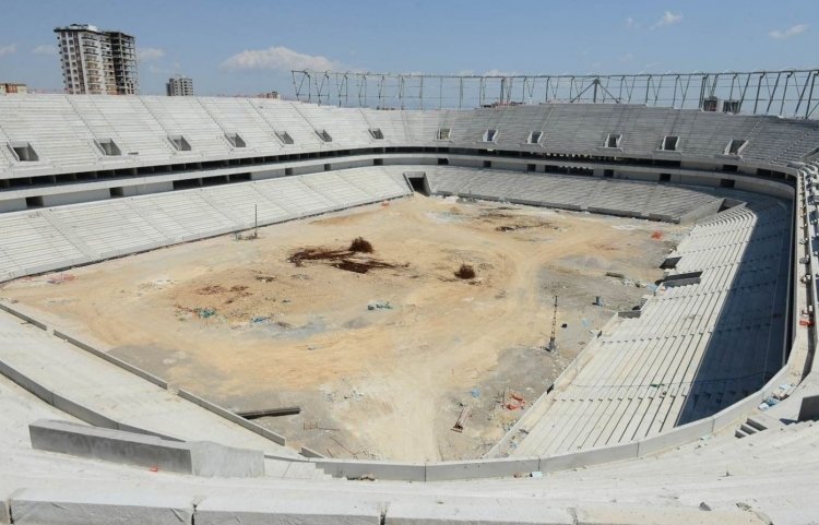 Türkiye'nin yeni stadyumları göz kamaştırıyor 10