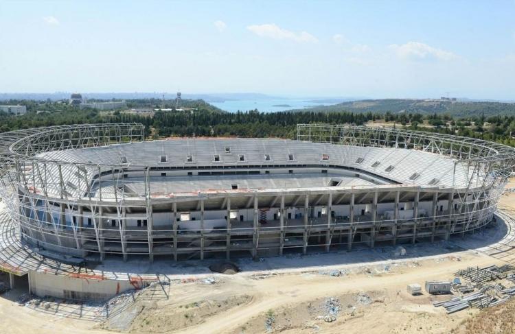Türkiye'nin yeni stadyumları göz kamaştırıyor 12