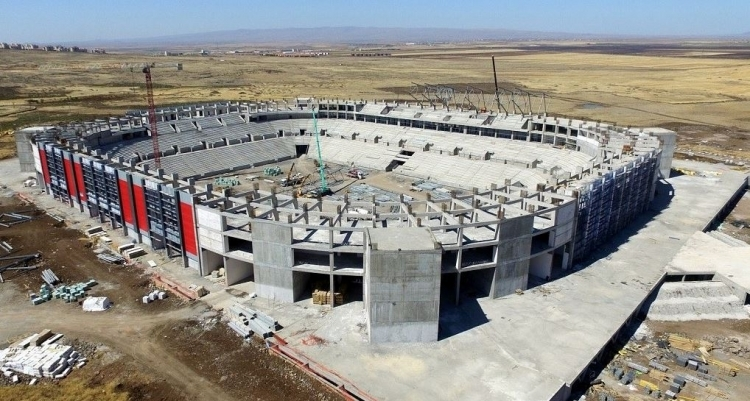 Türkiye'nin yeni stadyumları göz kamaştırıyor 17