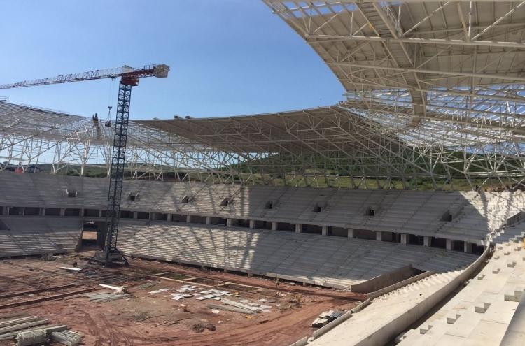 Türkiye'nin yeni stadyumları göz kamaştırıyor 25