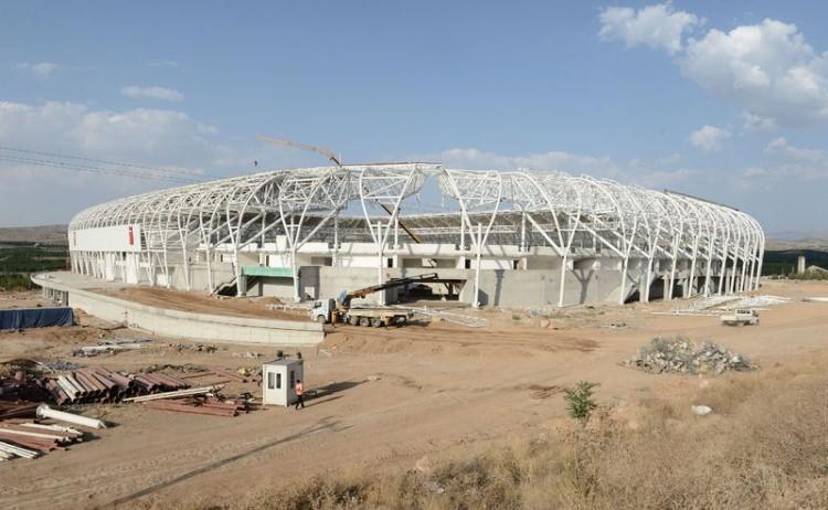 Türkiye'nin yeni stadyumları göz kamaştırıyor 26