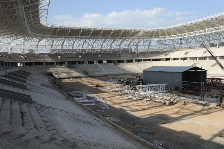 Türkiye'nin yeni stadyumları göz kamaştırıyor 27