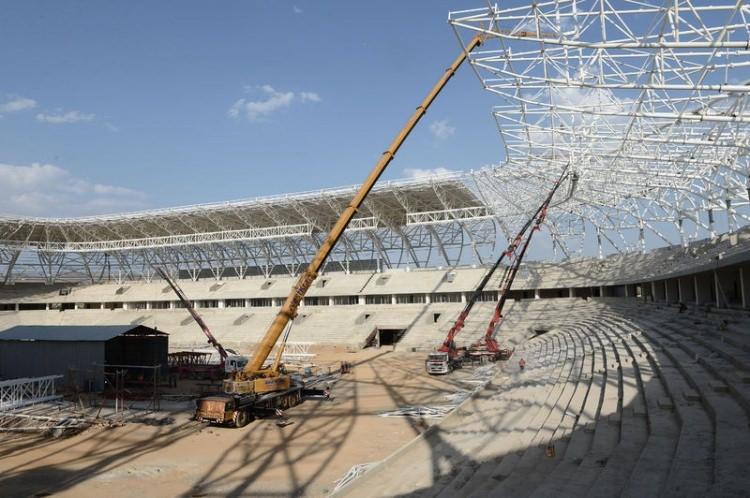 Türkiye'nin yeni stadyumları göz kamaştırıyor 28
