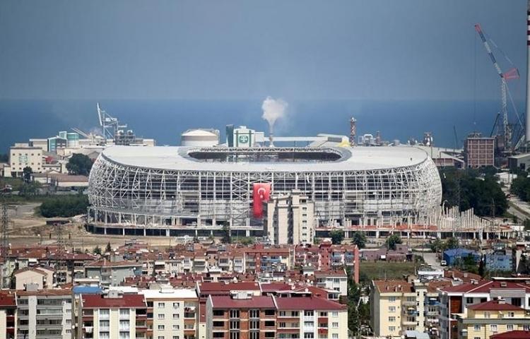 Türkiye'nin yeni stadyumları göz kamaştırıyor 30