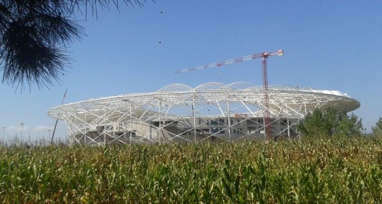 Türkiye'nin yeni stadyumları göz kamaştırıyor 34