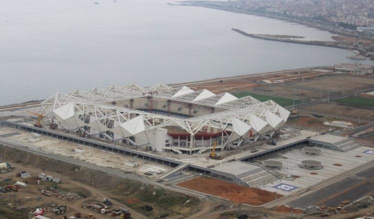 Türkiye'nin yeni stadyumları göz kamaştırıyor 36