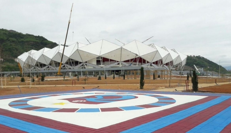 Türkiye'nin yeni stadyumları göz kamaştırıyor 38