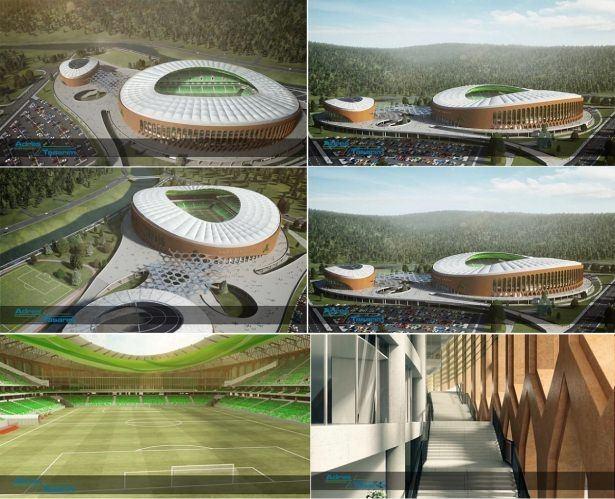 Türkiye'nin yeni stadyumları göz kamaştırıyor 42