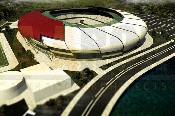 Türkiye'nin yeni stadyumları göz kamaştırıyor 43