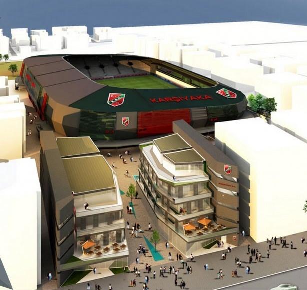 Türkiye'nin yeni stadyumları göz kamaştırıyor 44