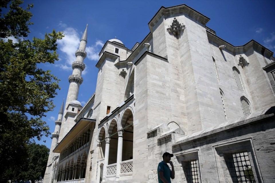 Süleymaniye Caminin gizli dehlizleri 12