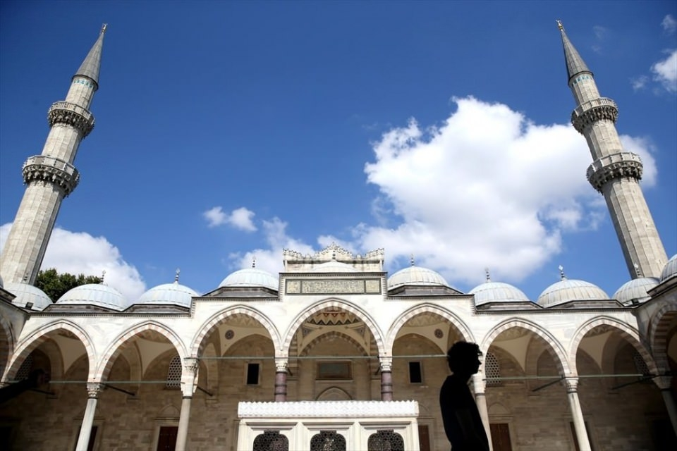Süleymaniye Caminin gizli dehlizleri 13