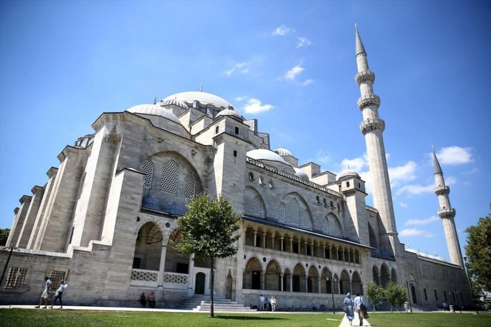 Süleymaniye Caminin gizli dehlizleri 14