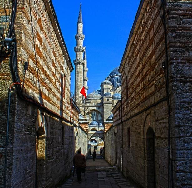 Süleymaniye Caminin gizli dehlizleri 20