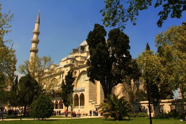 Süleymaniye Caminin gizli dehlizleri 21
