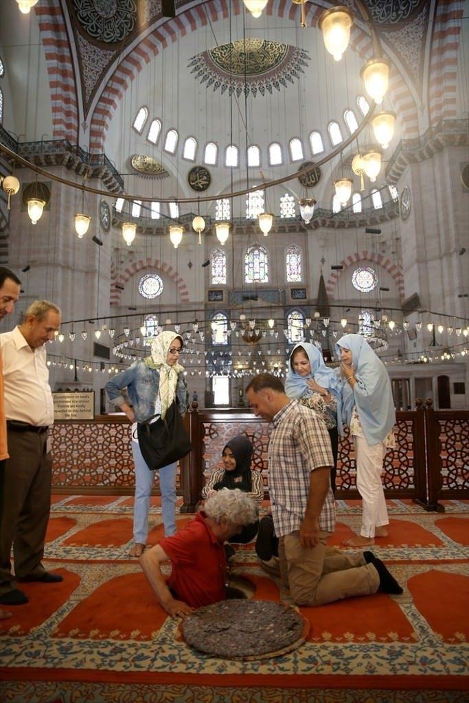Süleymaniye Caminin gizli dehlizleri 5