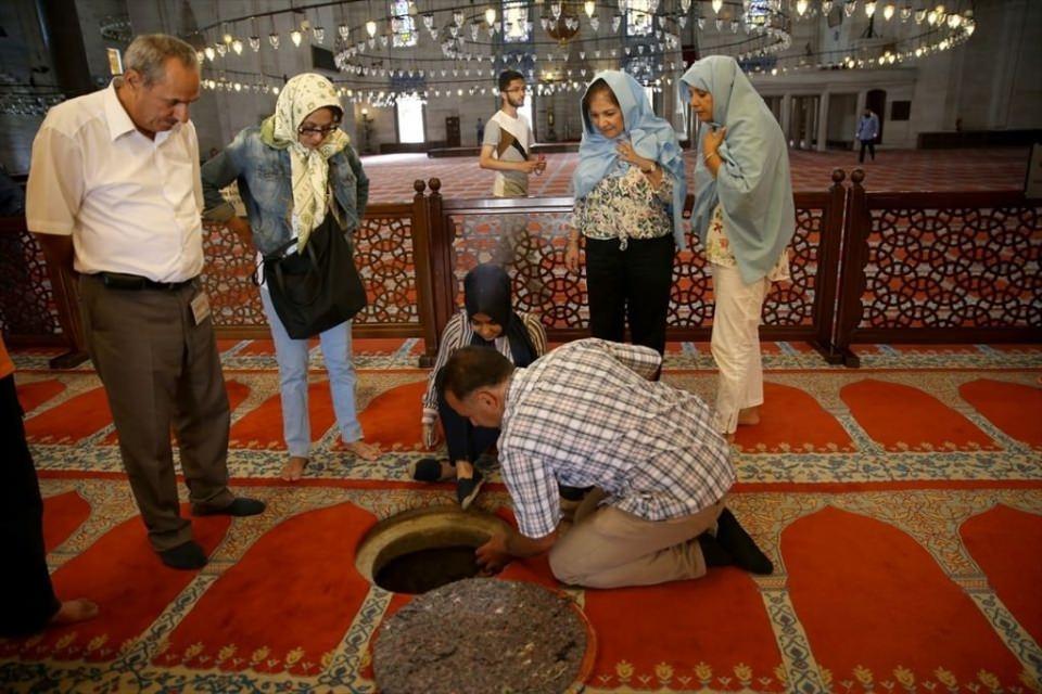 Süleymaniye Caminin gizli dehlizleri 7