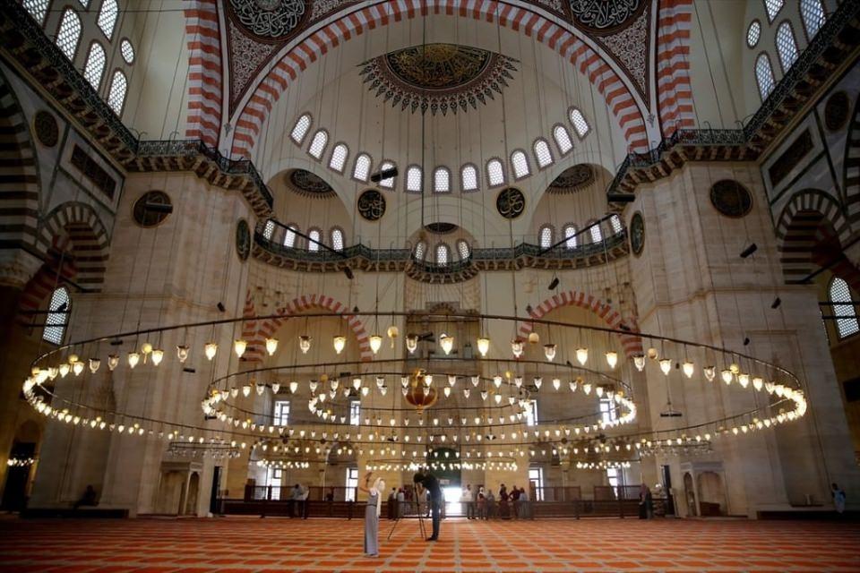 Süleymaniye Caminin gizli dehlizleri 8