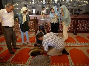 Süleymaniye Caminin gizli dehlizleri