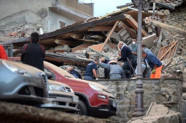 İtalya'da deprem: 6 ölü 7