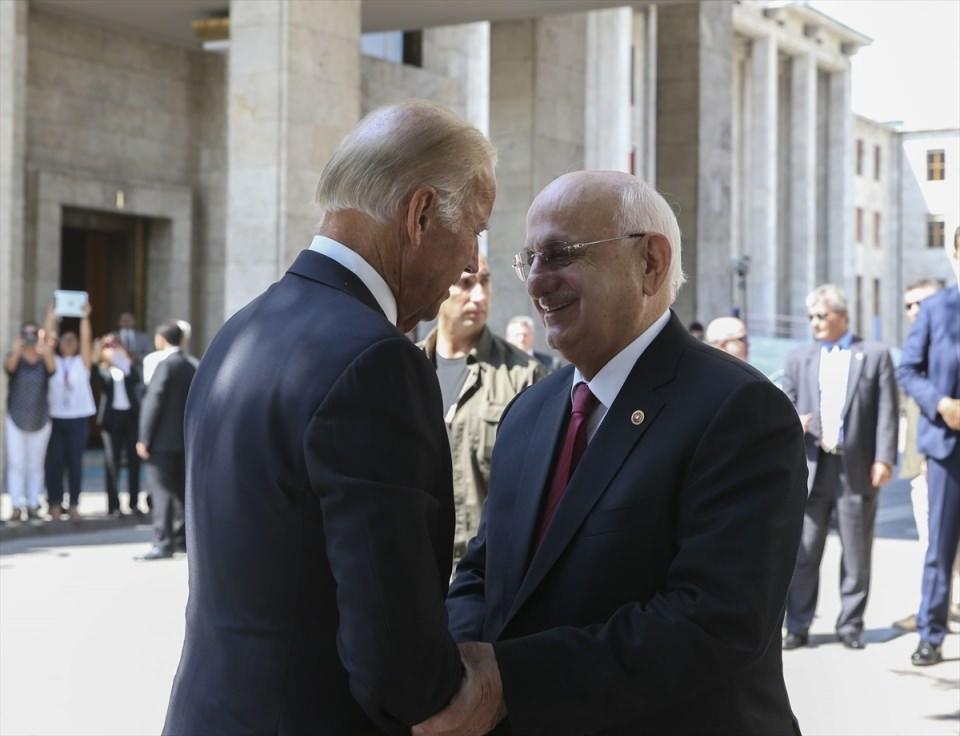 ABD Başkan Yardımcısı Biden, TBMM'de 14