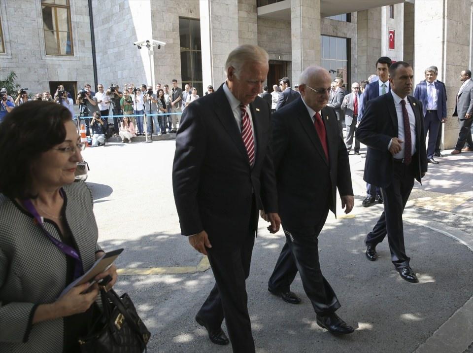 ABD Başkan Yardımcısı Biden, TBMM'de 15
