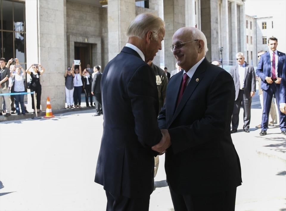 ABD Başkan Yardımcısı Biden, TBMM'de 16