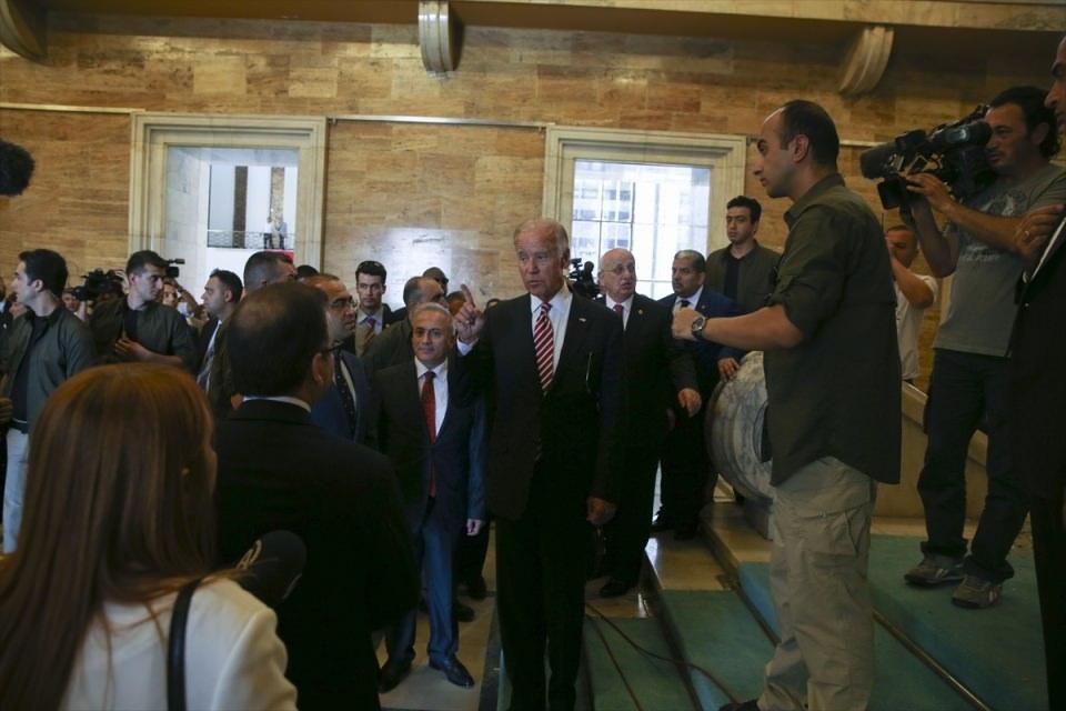 ABD Başkan Yardımcısı Biden, TBMM'de 26