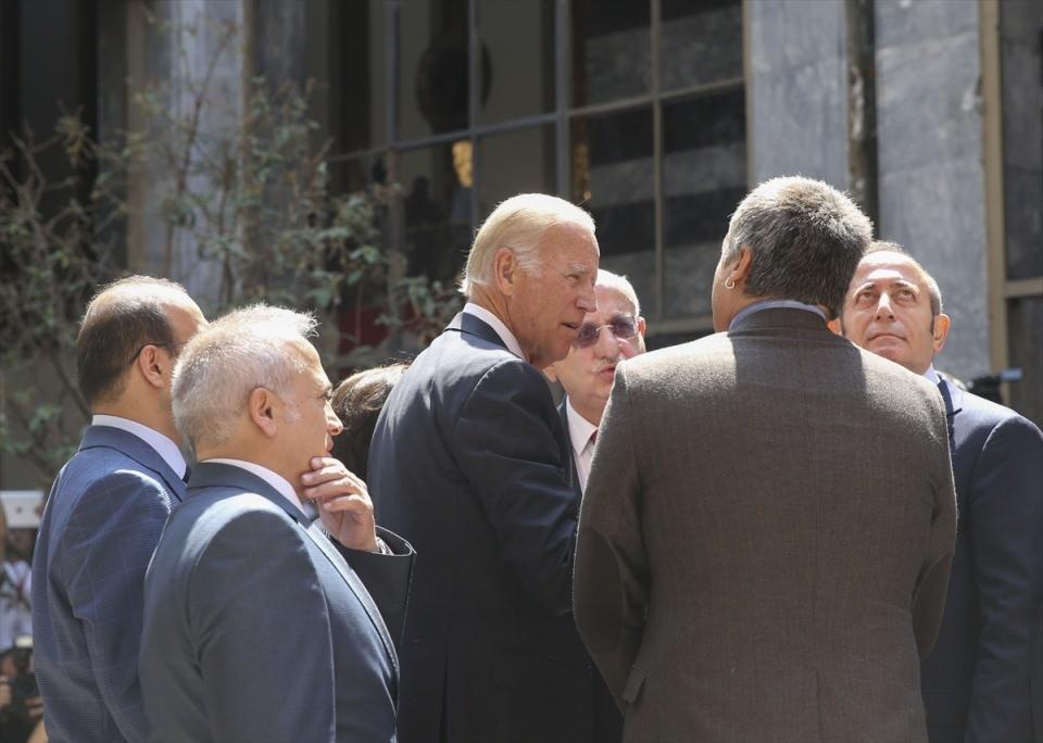 ABD Başkan Yardımcısı Biden, TBMM'de 28
