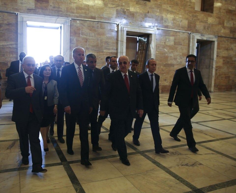 ABD Başkan Yardımcısı Biden, TBMM'de 29