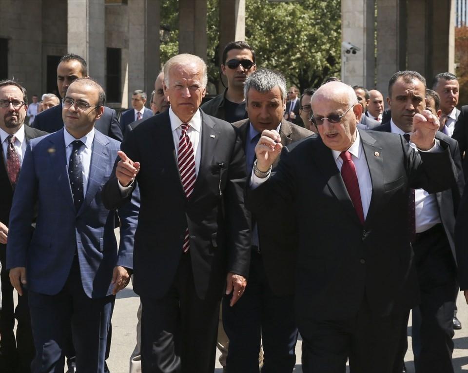 ABD Başkan Yardımcısı Biden, TBMM'de 31