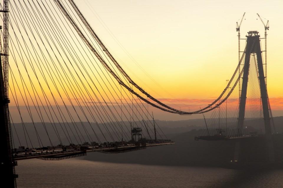 Adım adım Yavuz Sultan Selim Köprüsü 105
