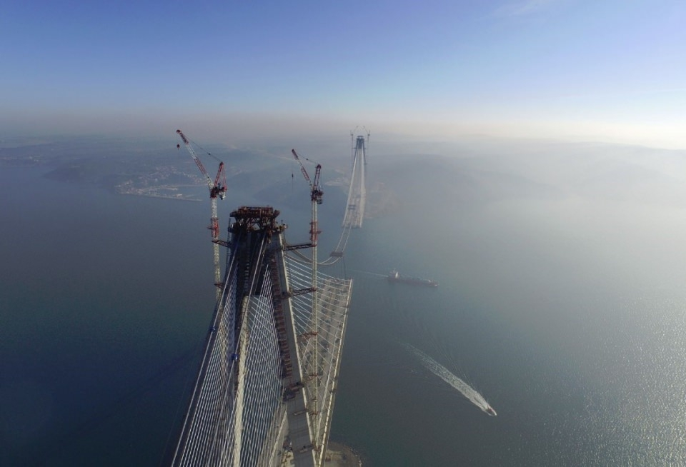 Adım adım Yavuz Sultan Selim Köprüsü 11