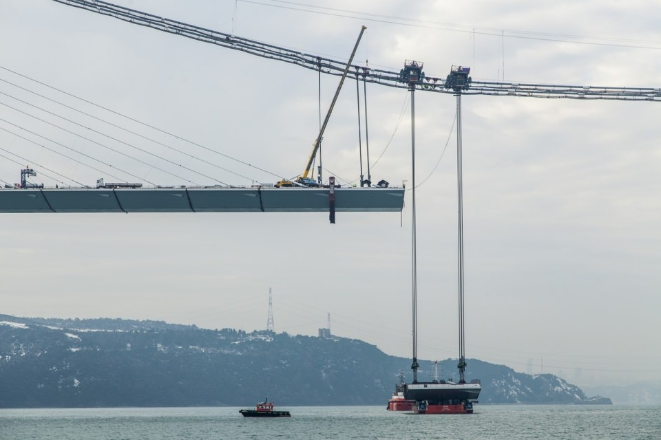 Adım adım Yavuz Sultan Selim Köprüsü 110