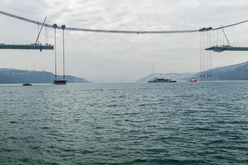 Adım adım Yavuz Sultan Selim Köprüsü 111
