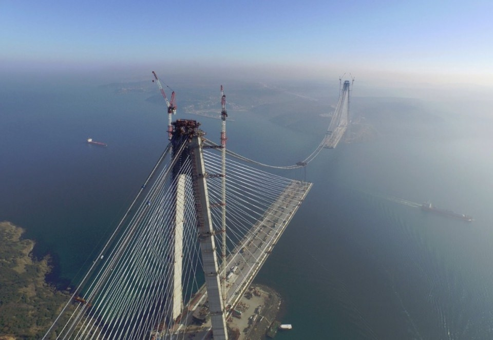 Adım adım Yavuz Sultan Selim Köprüsü 12