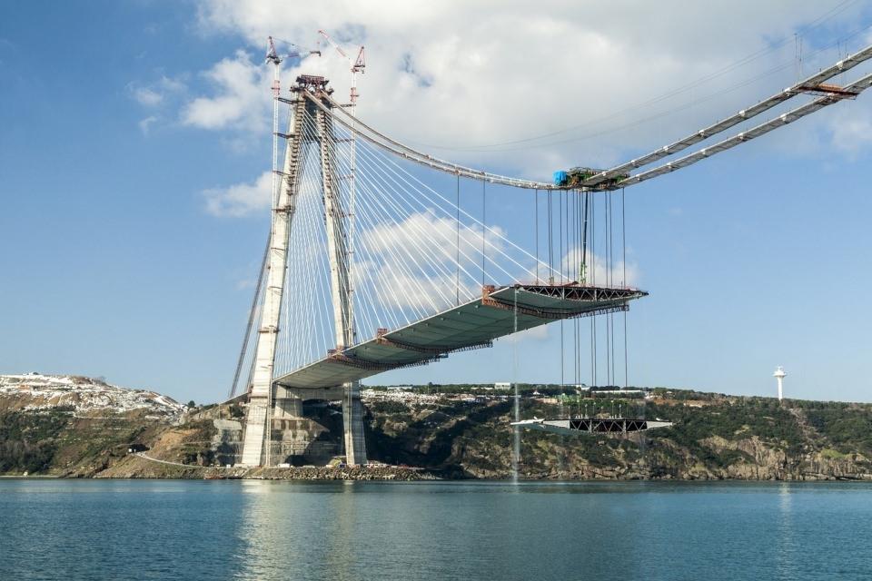 Adım adım Yavuz Sultan Selim Köprüsü 121