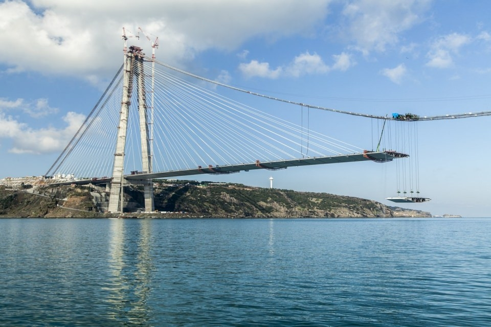 Adım adım Yavuz Sultan Selim Köprüsü 124