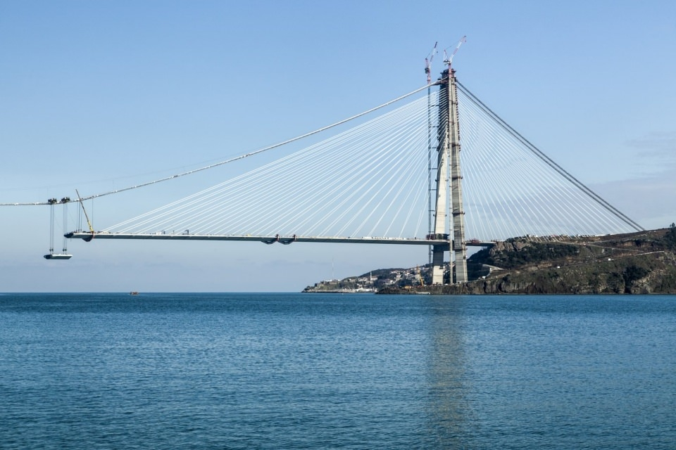 Adım adım Yavuz Sultan Selim Köprüsü 129
