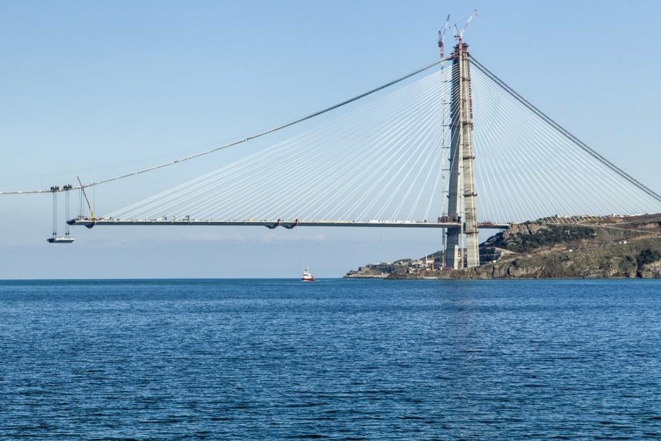 Adım adım Yavuz Sultan Selim Köprüsü 135