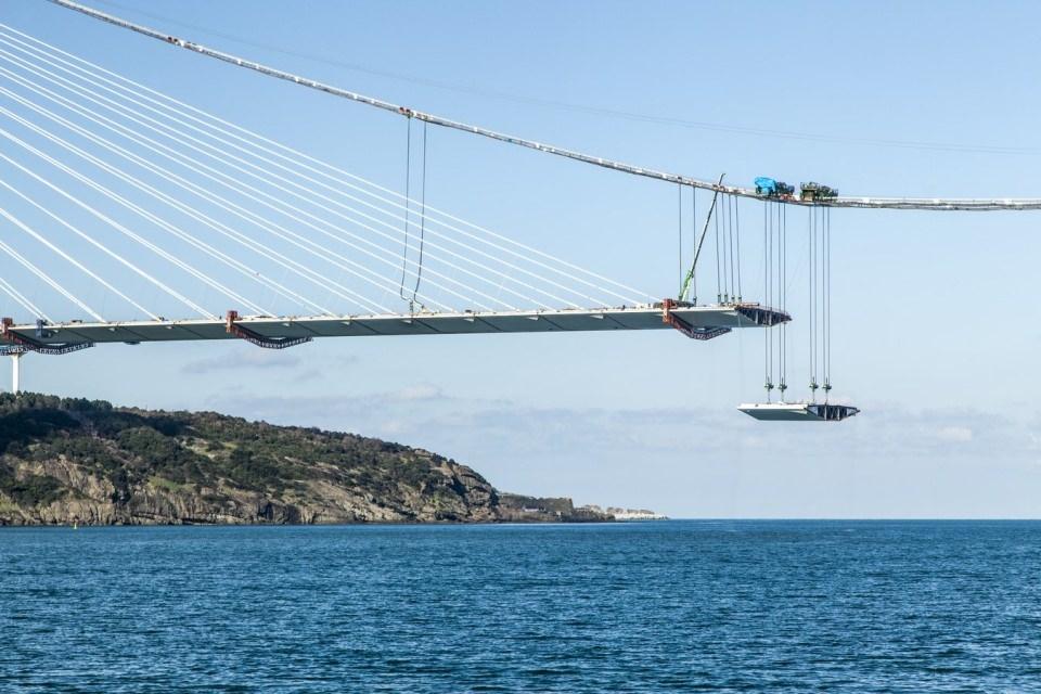 Adım adım Yavuz Sultan Selim Köprüsü 137