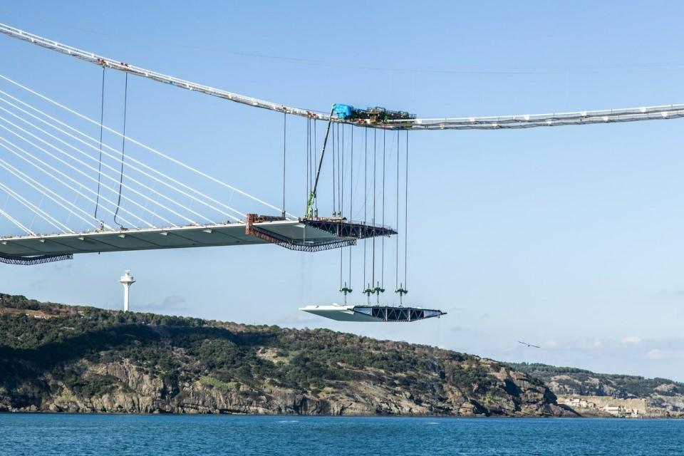 Adım adım Yavuz Sultan Selim Köprüsü 138