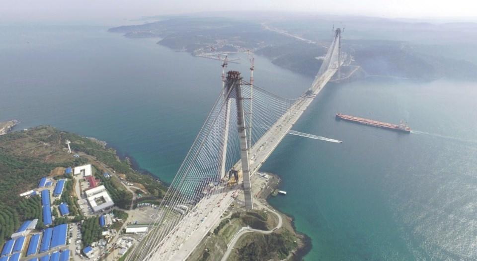 Adım adım Yavuz Sultan Selim Köprüsü 14