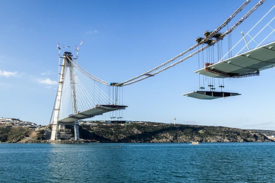 Adım adım Yavuz Sultan Selim Köprüsü 141