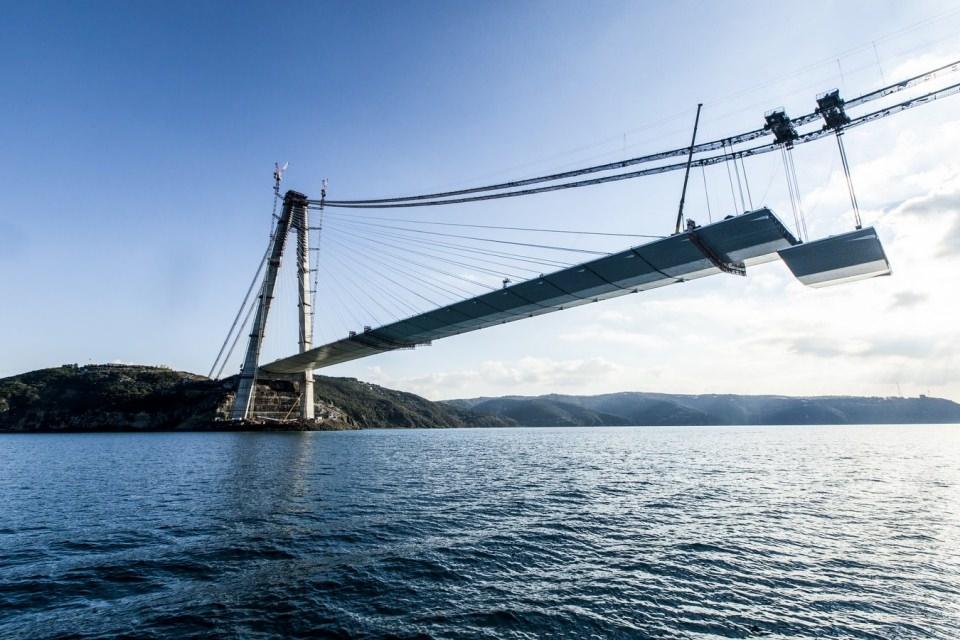 Adım adım Yavuz Sultan Selim Köprüsü 144