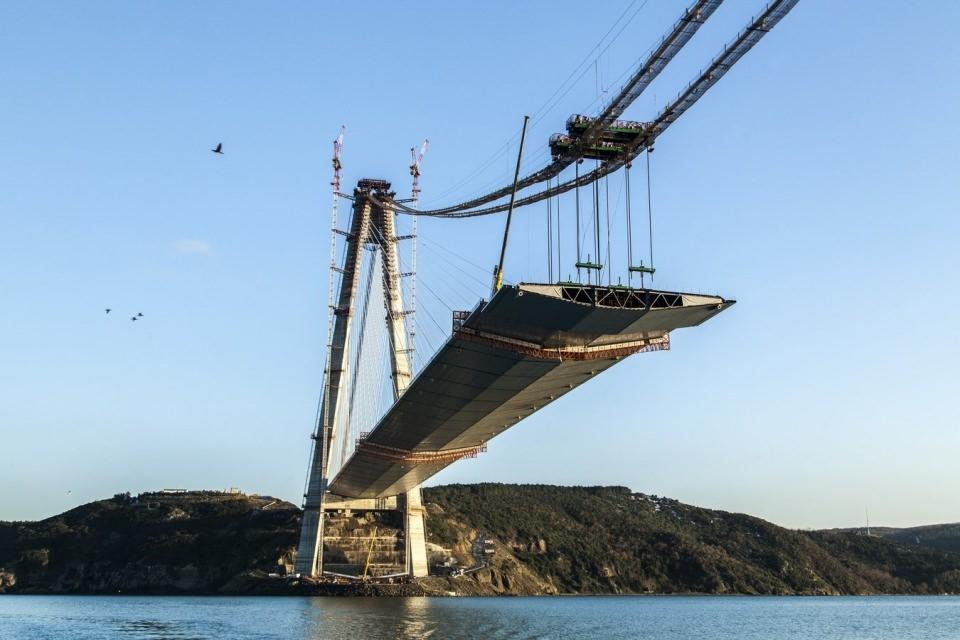 Adım adım Yavuz Sultan Selim Köprüsü 147