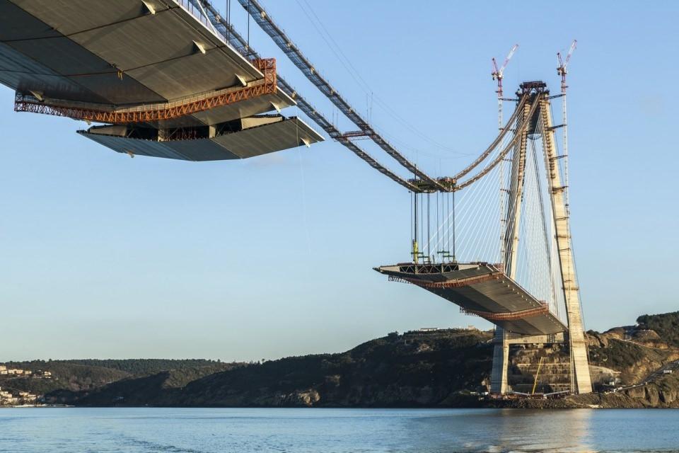 Adım adım Yavuz Sultan Selim Köprüsü 150