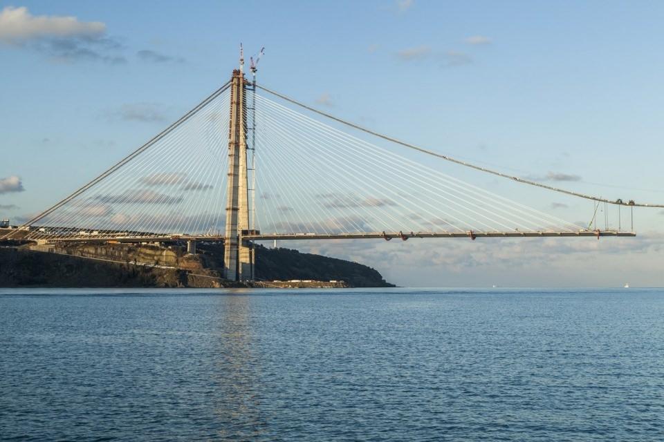 Adım adım Yavuz Sultan Selim Köprüsü 152