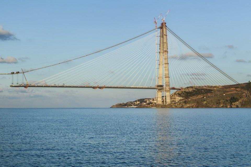 Adım adım Yavuz Sultan Selim Köprüsü 153