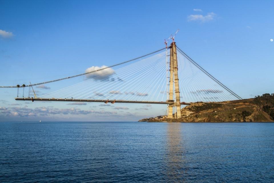 Adım adım Yavuz Sultan Selim Köprüsü 154